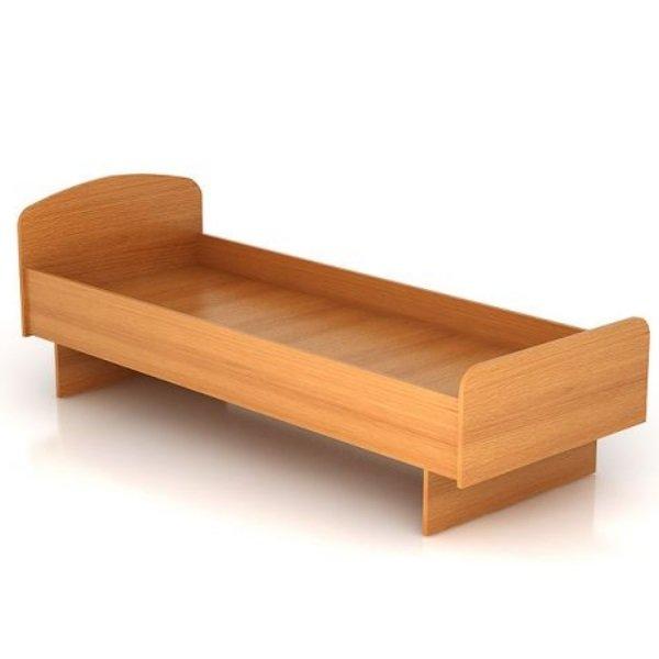 Кровать одноместная Дельта КР 05 миланский орех