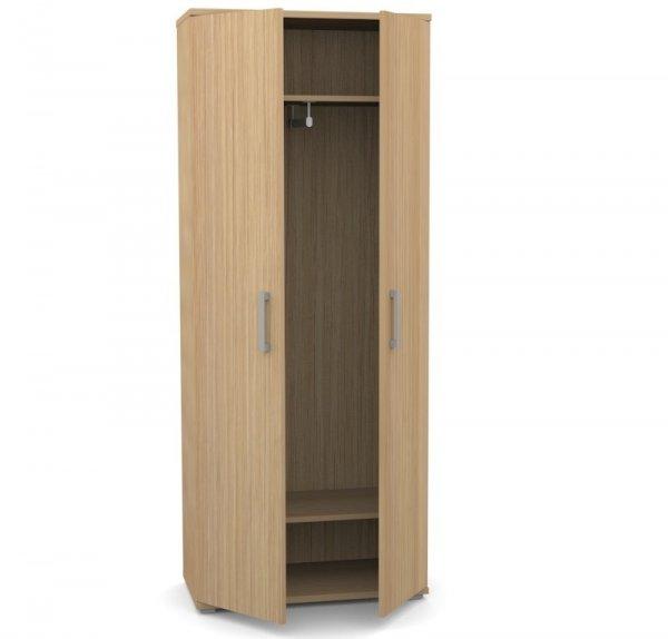 Шкаф для одежды узкий Space S-621 дуб телемарк