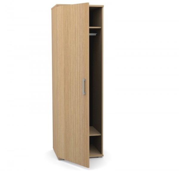 Шкаф для одежды узкий глубокий Space S-631 дуб телемарк