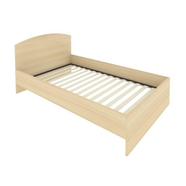 Кровать с изголовьем Light С-КИ-120 акация лорка