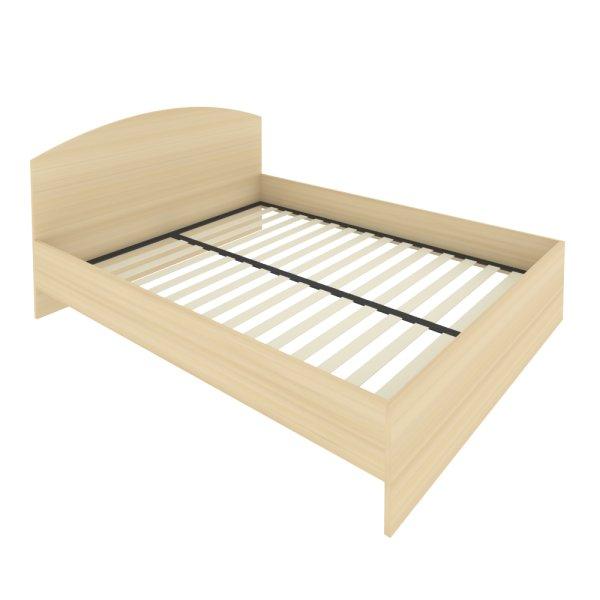 Кровать с изголовьем Light С-КИ-160 акация лорка